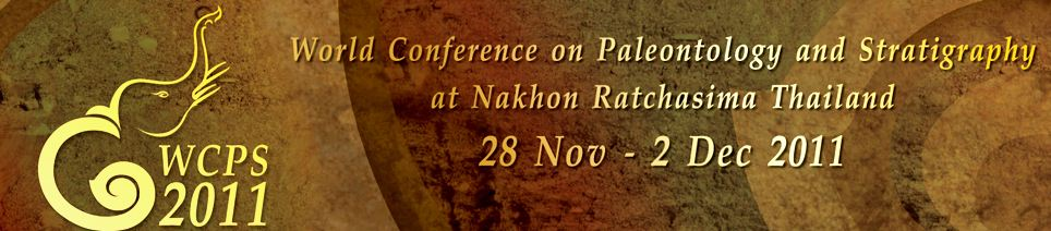 The World Conference on Paleontology and                           Stratigraphy (WCPS2011)